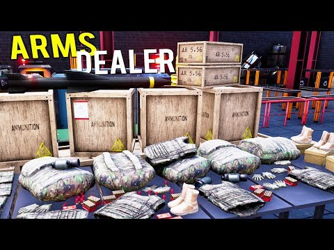 BECOMING THE WEALTHIEST MILITARY ARMS DEALER IN THE WORLD! - Gunsmith Pre-Alpha Gameplay