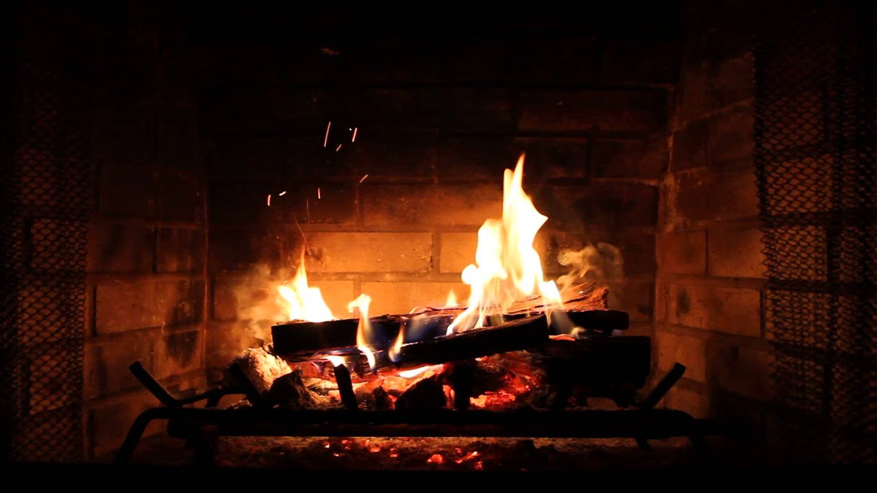 A Cozy Fire in the Fireplace - YouTube