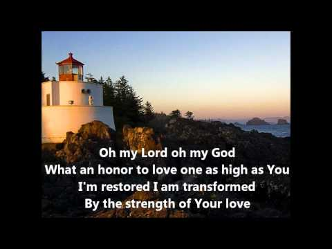 Something Happens by Duncan Bouwer with lyrics (worship song)