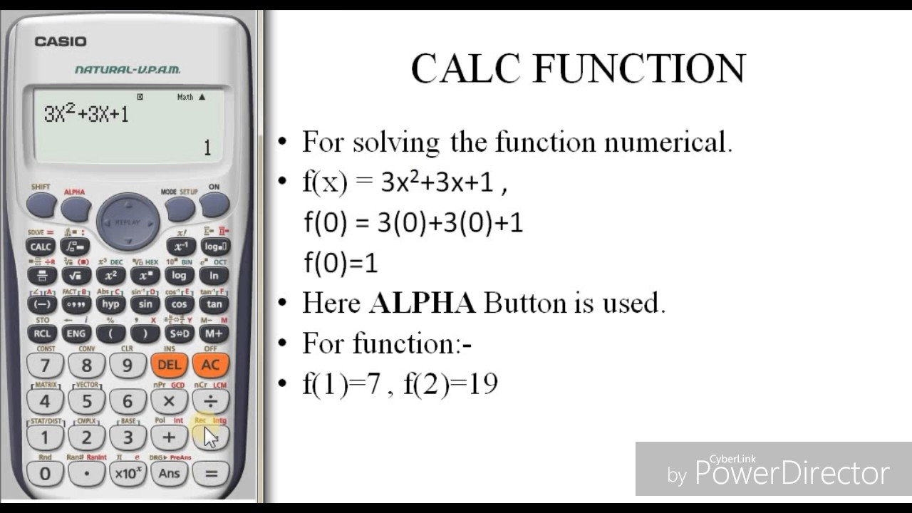 Composition of functions using a calculator ti-89 youtube.