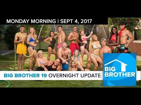 Big Brother 19   Overnight Update Podcast   Sept 4, 2017