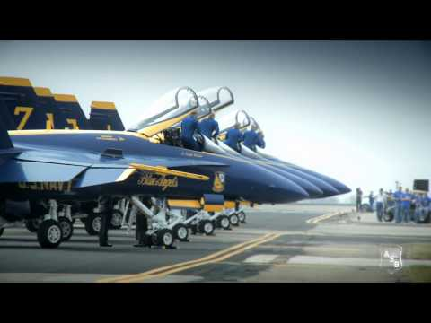 Blue Angels Return to Their Roots: F8F Bearcat