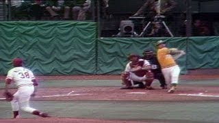 1972 WS Gm1: Tenace clubs first homer of the game