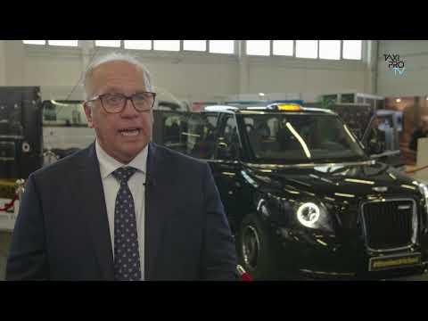 Black Cab TX op Taxi Expo