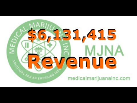 MJNA Medical Marijuana Inc Announces $6.1 Million Revenue for Q2 2017