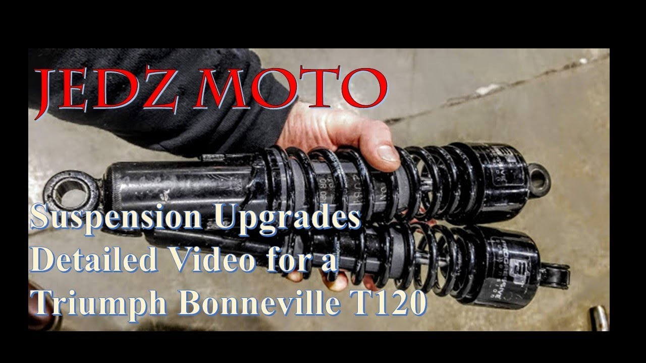 Suspension Upgrades For The Water Cooled Triumph Bonneville T120