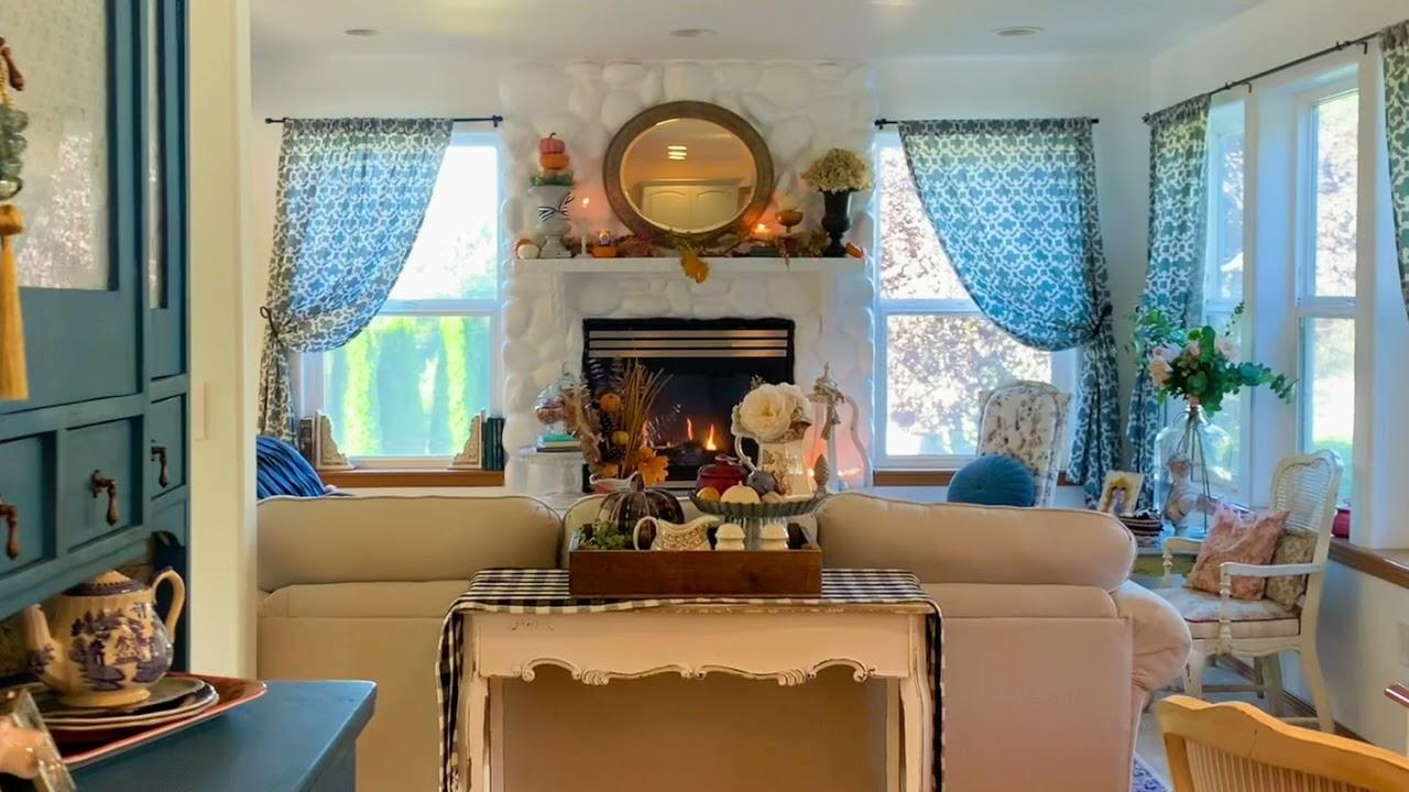 Cozy Fall Farmhouse Home Tour | Fall Decorating Ideas to Inspire | Fall Home Tour 2021