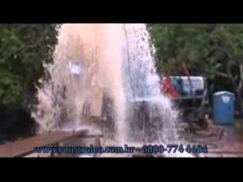 Poço Artesiano Em Ribeirão Preto, Daerp - Constroleo - Explosão De Água - Jan-2011
