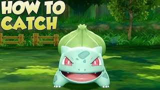 Pokemon Lets Go Pikachu and Eevee - How To Catch Bulbasaur
