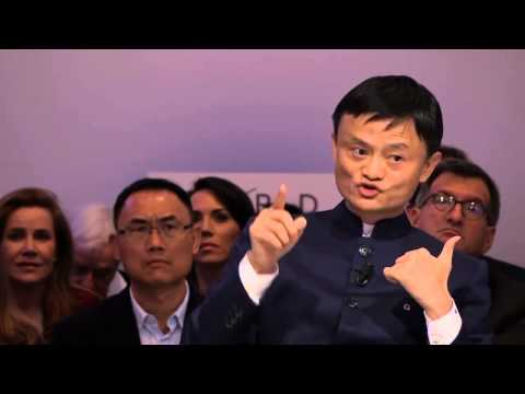 Jack Ma Davos. I was rejected by Harvard 10 times