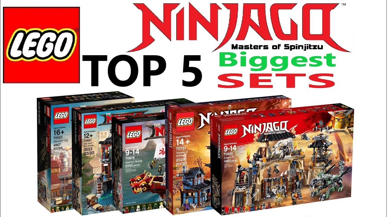 Lego Ninjago Top 5 Biggest Sets Of All Time Lego Speed