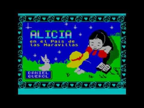 ZX Spectrum games inspired by Lewis Carroll's books