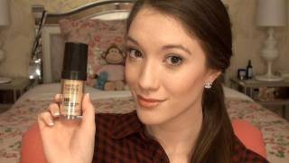 my everyday foundation routine for oily acne prone skin   blair fowler