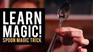 Beginners Magic Trick! The Spoon to Fork Trick!