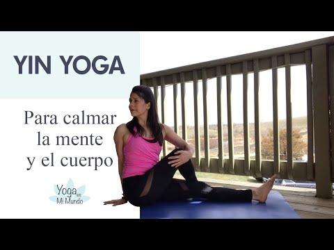 Calma tu mente y tu cuerpo - Yin Yoga clase completa con Adriana.