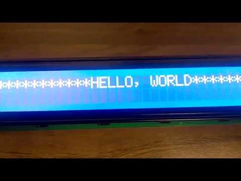 40x2 4002 Character LCD Display Equivalent with HD44780 White on Blue Color new