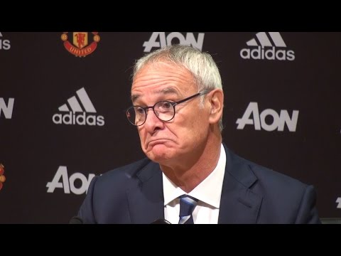 Manchester United 4-1 Leicester - Claudio Ranieri Full Post Match Press Conference
