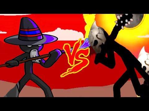 Magikill Army Vs FINAL BOSS! - Insane | Stick War Legacy