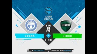 LaLigaArgentina 18.02.2018 Ober Tenis Club vs. Hind Club