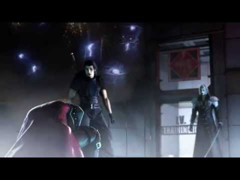Sephiroth VS. Genesis and Angeal Fight Remastered HD