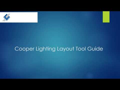 cooper lighting layout tool guide