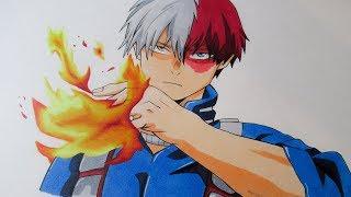 Speed Drawing [My Hero Academia] Todoroki Shoto