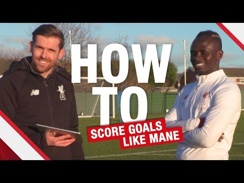 How to... Score goals like Sadio Mane | Lessons from the LFC International Academy