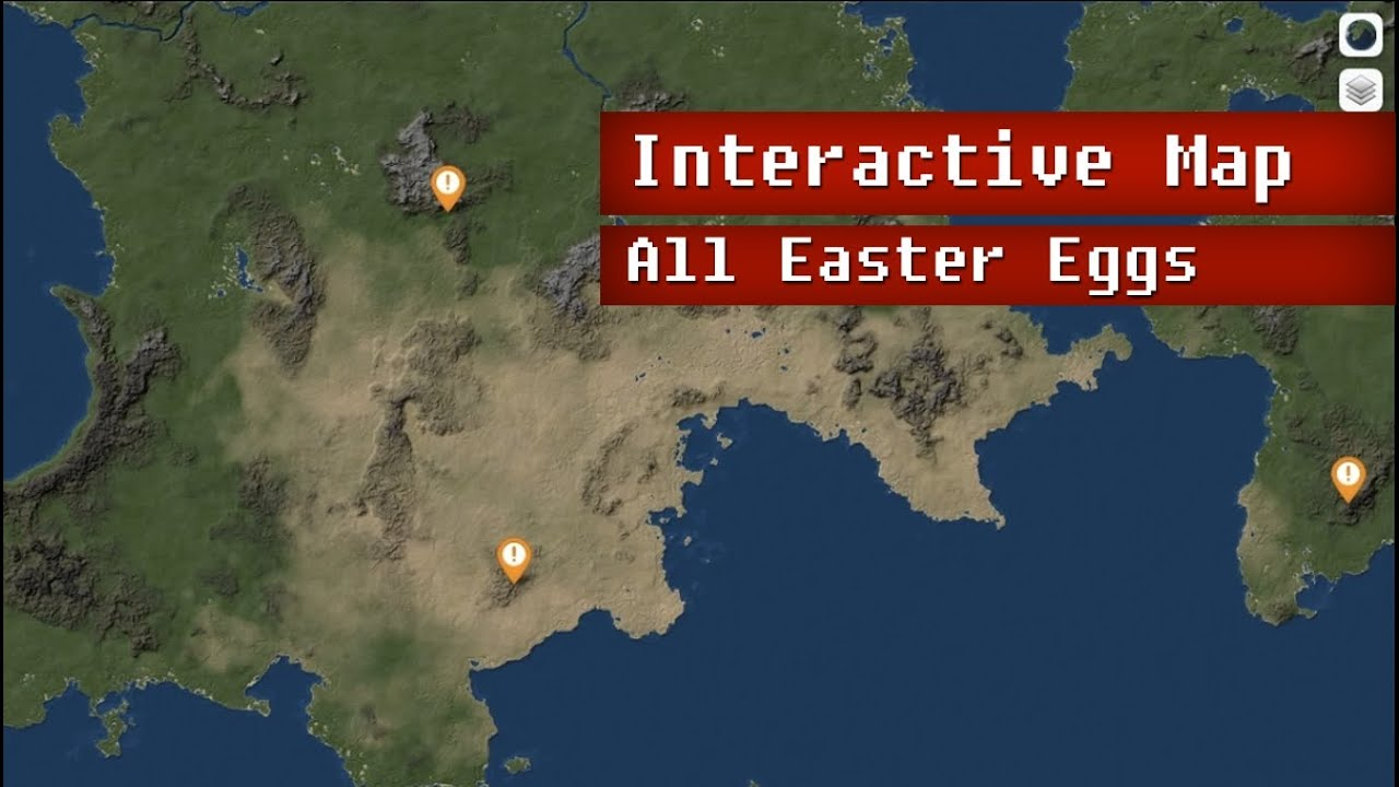 Interactive Map - All Kerbal Easter Eggs - Kerbal Space Program on play map, space map, ksp map, game map,