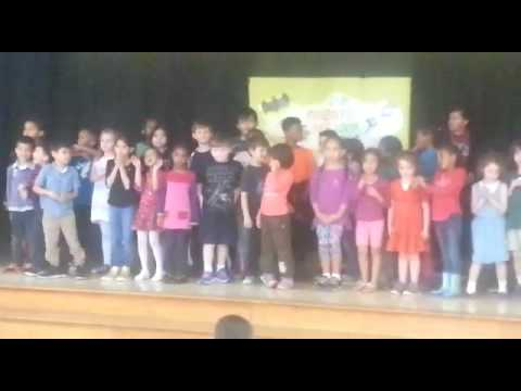Where she was singing at the  event at the  Globe daycare