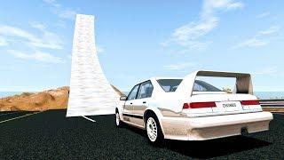 Who Needs Bridges Anyway? #1 - BeamNG Drive Jumps & Crashes