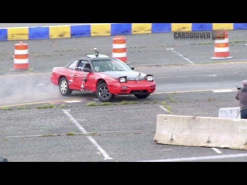 Best Drifting with Beaters (Part 1) - CAR and DRIVER