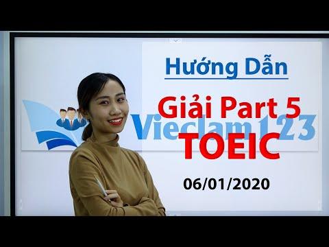 Hướng Dẫn Giải Chi Tiết Part 5 - Đề Thi Toeic của IIG ngày 06/01/2020