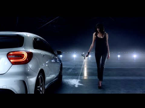 Mercedes a klasse werbung new mercedes benz a class for Mercedes benz new advert