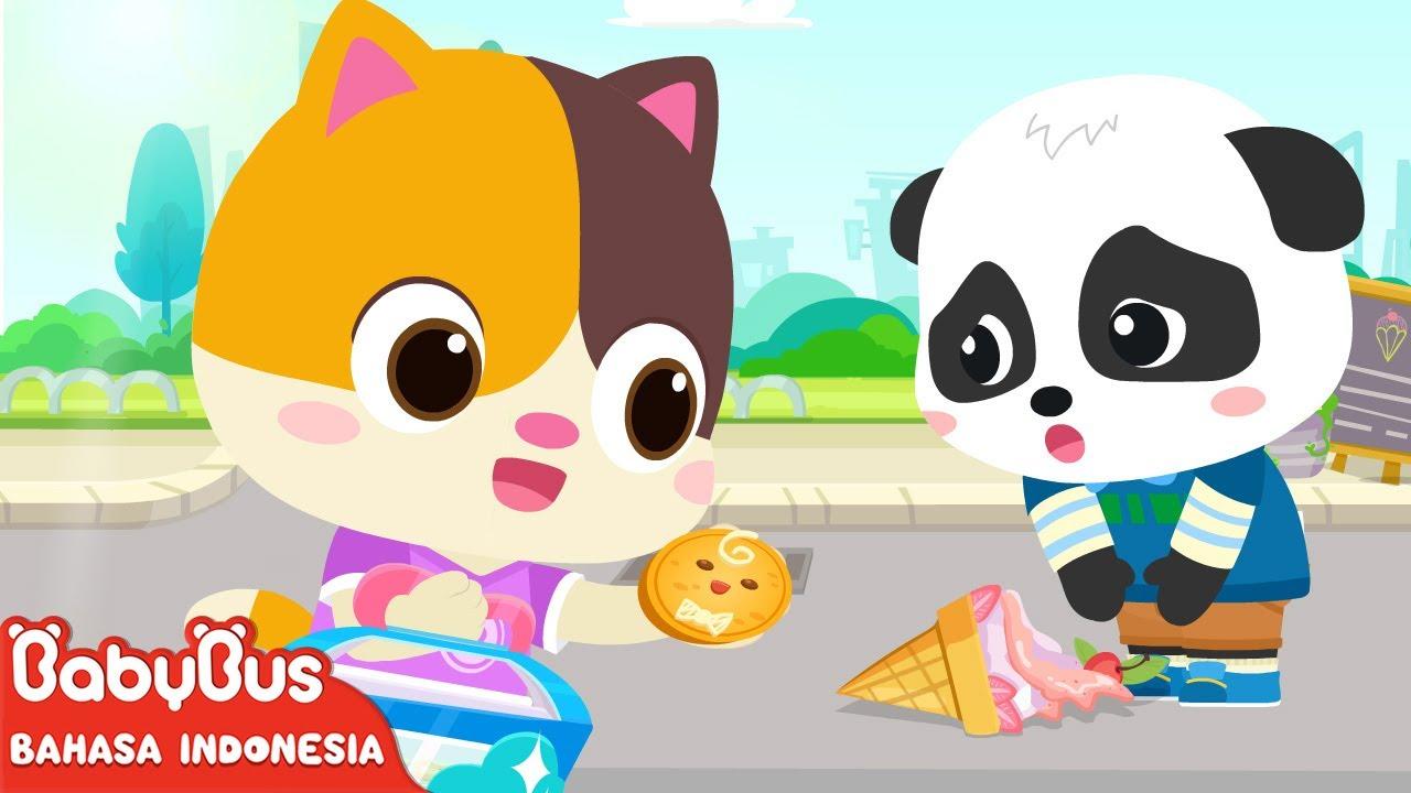 Apakah Aku Harus Berbagi Dengan Temanku? | Kartun Anak | Lagu Anak | BabyBus Bahasa Indonesia