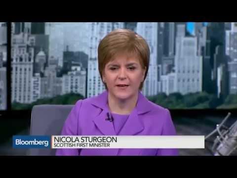 Nicola Sturgeon Interview USA  8/6/2015