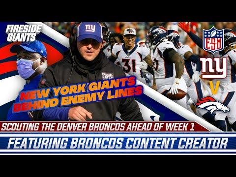 New York Giants Behind Enemy Lines | Scouting The Denver Broncos Ahead Of Week 1