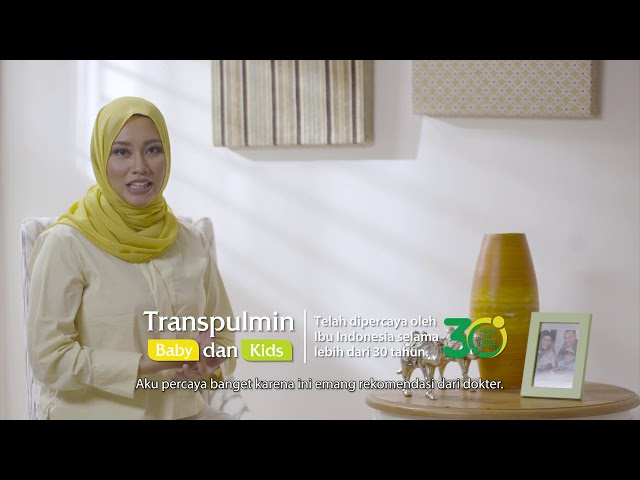 Transpulmin Baby & Kids - Bebaskan Nafasnya Kembalikan Cerianya (35s)
