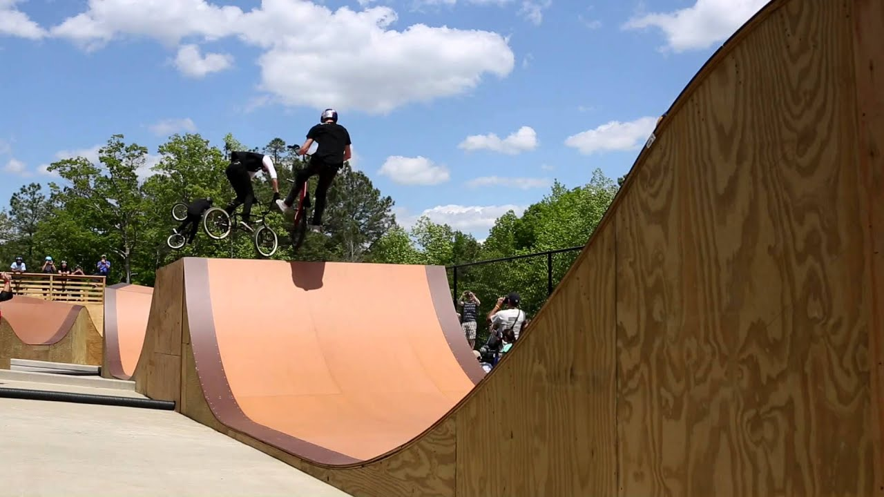 Daniel Dhers Action Sports Complex Grand Opening - BMX, MTB & Skateboarding