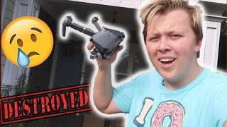 I Destroyed My $1000 Drone**UNFIXABLE**