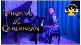 Pirates of the Caribbean (He's a Pirate) - Virtuosic Piano Solo