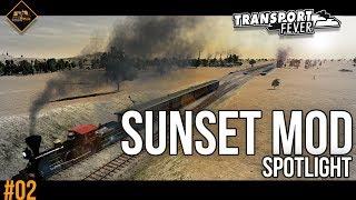 The Sunset Mod and Smoke Reduction Spotlight | Transport Fever Metropolis part 2