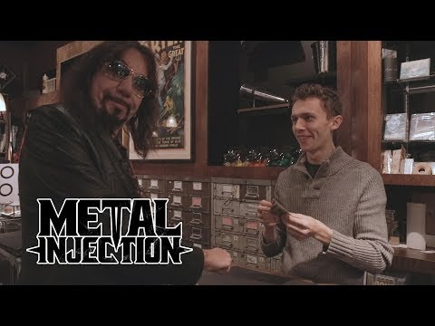 ACE FREHLEY Talks Magic And Performs A Trick For You | Metal Injection