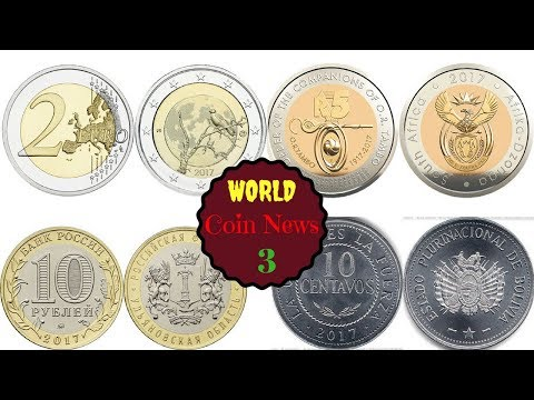 New Coins From Russia, Finland, Bolivia, South Africa || World Coin News 3
