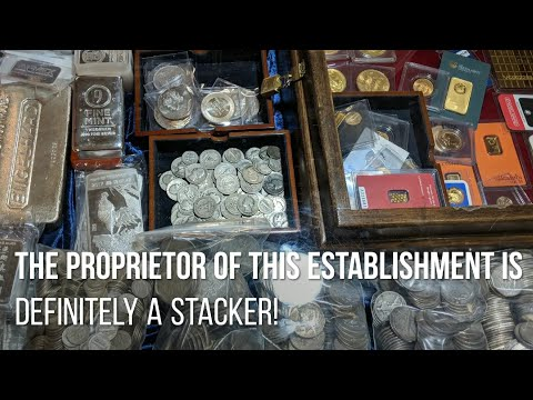 Where NOT to buy silver & gold bullion? A coin & antique shop tour.