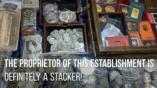 Where NOT to buy silver & gold bullion? A coin & antique shop tour.