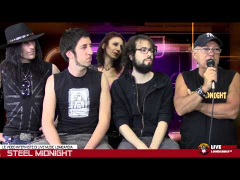 Le Video Interviste di Live Music Lombardia - Steel Midnight