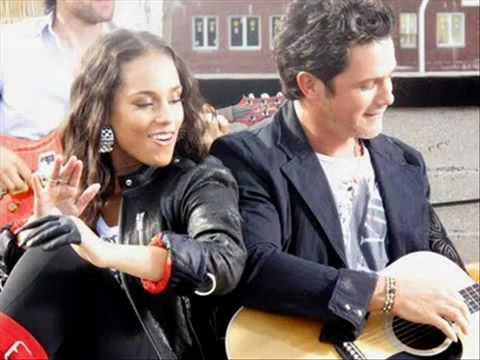 Alejandro Sanz Y Alicia Keys - Looking For Paradise