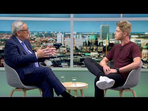 Interview mit EU Präsidenten Jean-Claude Juncker