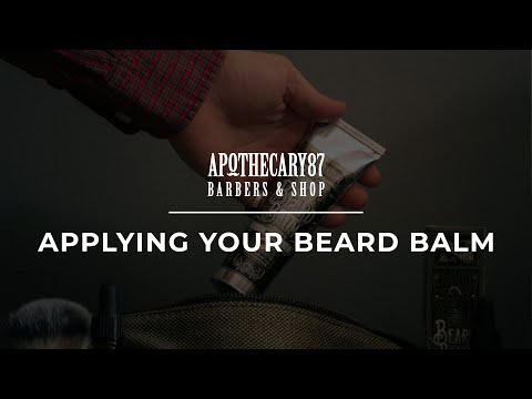 Apothecary 87 - How to apply our Beard Balm