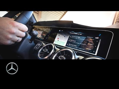 World premiere of the new Mercedes-Benz User Experience MBUX